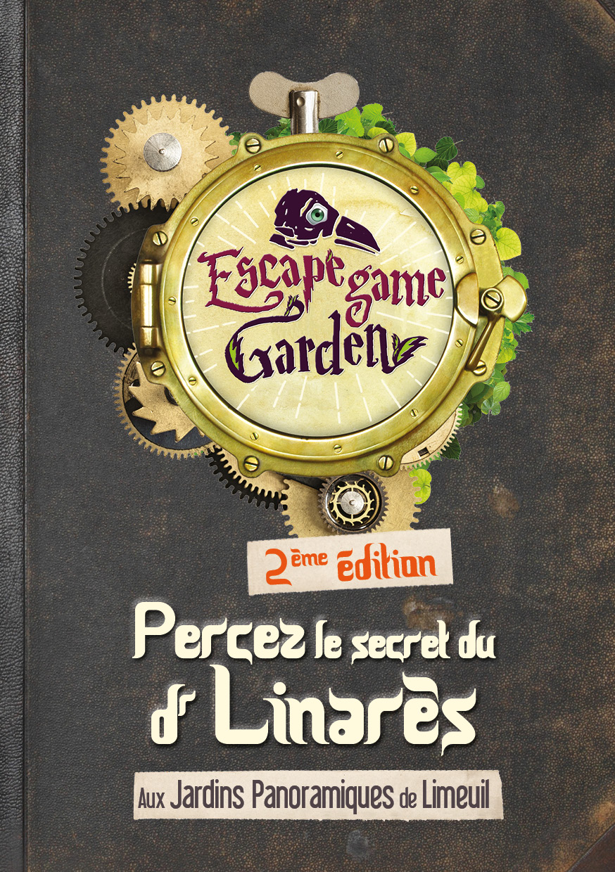 page de couverture escape game saison 2